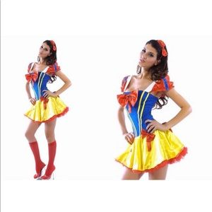 Other - ⚠️‼️SOLD‼️⚠️ Sexy Snow White Halloween Costume